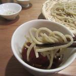 吉 - 蕎麦を手繰る(2016/11)