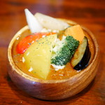 きーCurry - 料理写真:あめ玉スパイシー×野菜
