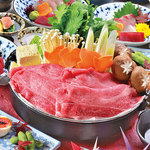 和牛すき焼き鍋