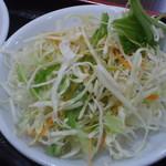 台湾料理 鴻翔 - 野菜サラダ