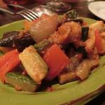 オステリア ラ チチェルキア - 夏野菜のフリカント
