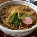 増田屋 - 料理写真:たぬきそば 570円