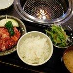 焼肉 坐旺 - ざおうカルビランチ