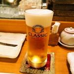 寿し処もり - 生ビール