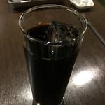 欧風カレー ボンディ - アイスコーヒー
