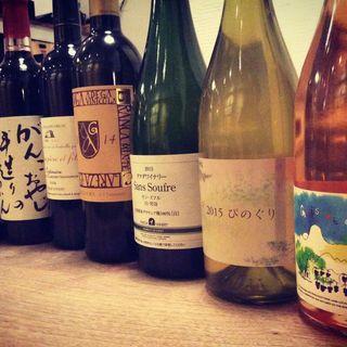 日本ワインから、コエドビール、クラフトジンなど充実の品揃え☆