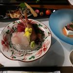 佳山水 花こみち - 料理写真:あらかじめ半分セットされています
