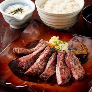 ♢食べるべき一品♢『頂』厚切り牛タン定食