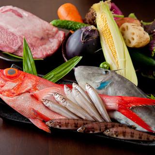 神戸牛明石鮮魚兵庫県産野菜