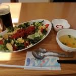 カナン - 料理写真:限定タコライス+ドリンクバーコーヒー@890円