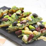 水刺齋 - 海鮮と色々お豆のチヂミ