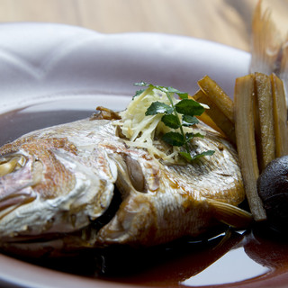 放血神経〆、五島列島鮮魚の煮付け