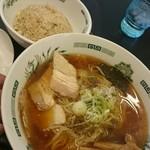 日高屋 - 料理写真:2016年11月第5週 夜