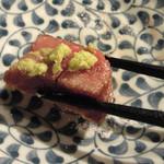 鉄板焼ダイニング AGITO - 生山葵で頂き