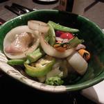 鉄板焼ダイニング AGITO - サラダ