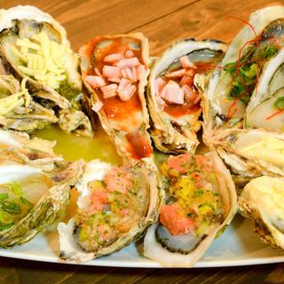 世界各国の牡蠣の食べ方