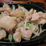 300 B ONE - 桜姫鳥のねぎ塩ステーキ(やっつけ仕事)
