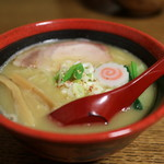 ra-menshuboukumajin - 料理写真:特濃鶏白湯