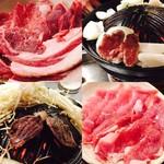 札幌成吉思汗 しろくま - 素敵でジューシー羊肉たち