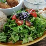 CITRA Hachioji - しっとりと新鮮なサラダがメイン