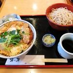 そば処 木の芽 - ヒレかつ丼セット