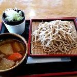 竜神庵 - 料理写真:けんちんつけそば750円