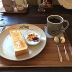 カフェ モーリス - モーニング  500円 (税別)