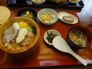 郷土料理 五志喜 本店 - 松山(北条)鯛めしランチ