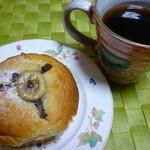 prato cafe - バナナとチョコのマフィン
