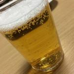 中華料理 揚子江 - 瓶ビール