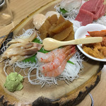 中華料理 揚子江 - 刺し盛り