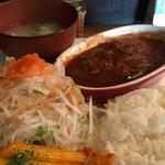 Mar's Cafe - 数量限定ハンバーグプレート税込890円
