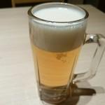 葵屋 - 【2016.11.29(火)】生ビール