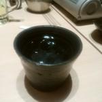 葵屋 - 【2016.11.29(火)】冷酒(豪快・2合)