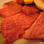 焼肉冷麺 呉家 - 料理写真:適度なサシで、赤身とのバランスが良く、肉の旨みがちゃんと感じられる。