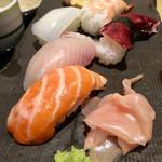 59450007 - 握り寿司膳(880円)(2016.11.現在)