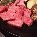 飛騨牛料理 「匠味」 - 飛騨牛 三種盛り
