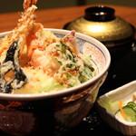 てんぷら忍者 - 海鮮天丼