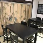 てんぷら忍者 - テーブル席
