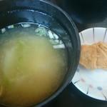 ちとせ - 味噌汁