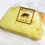 長門牧場 レストハウス - シフォンケーキ。これは普通かな