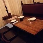 グリルガーデン シンジュクニクバル - 我々のテーブル
