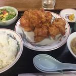 香亭 - 唐揚げ定食