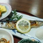 甚五郎寿し - 焼き魚(秋刀魚)