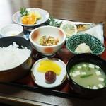 甚五郎寿し - 焼き魚定食