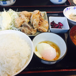 いちばん - 唐揚げ定食