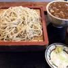 石臼そば - 料理写真:もりそば 小カレー丼セット 1,100円