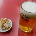 竹岡らーめん - ドリンク ビール