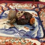 坊千代 - 蝦夷鹿のハンバーグ