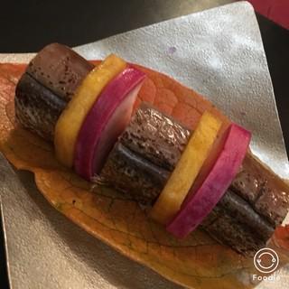 坊千代 - かますの棒寿司
